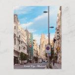 Gran Vía - Madrid Postcard