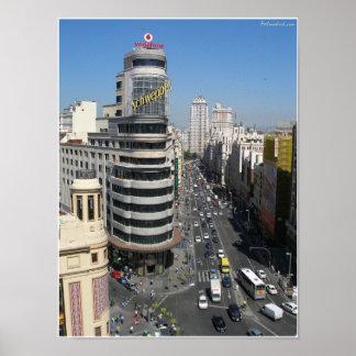 Gran vía Madrid Póster
