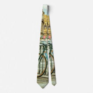 Gran Via Street, Madrid, Spain Neck Tie