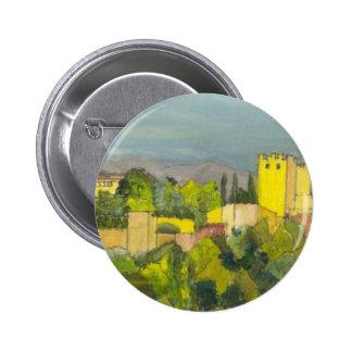 Granada 2 Inch Round Button