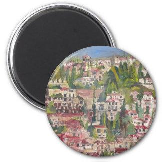 Granada 2 Inch Round Magnet