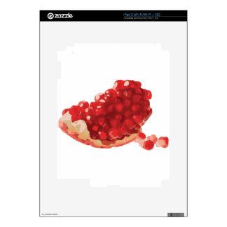 Granada abierta y deliciosa calcomanías para iPad 2