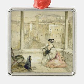 Granada (Alhambra), platea 9 de 'bosquejos de Spai Adorno De Reyes