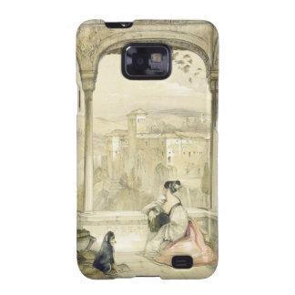 Granada (Alhambra), platea 9 de 'bosquejos de Spai Galaxy S2 Carcasa