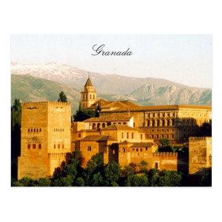 Granada Alhambra Tarjeta Postal