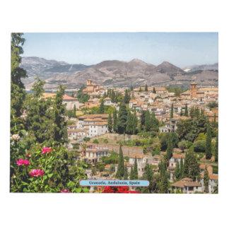 Granada, Andalusia, Spain Notepad