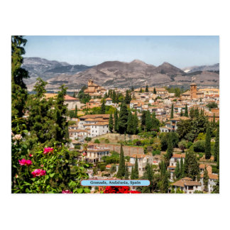 Granada, Andalusia, Spain Postcard