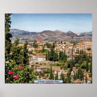 Granada, Andalusia, Spain Poster