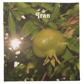 Granada de Irán Servilleta
