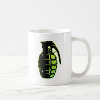 Granada de mano - verde taza de café