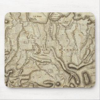 Granada del la de l'Isle de la carta Alfombrilla De Raton