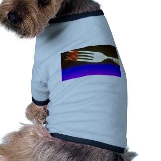 Granada en la bifurcación camisa de mascota