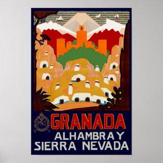 Granada España Póster
