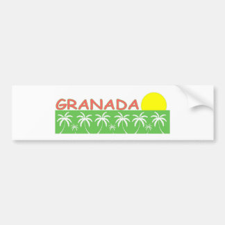 Granada Pegatina Para Auto
