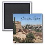 Granada, Spain 2 Inch Square Magnet