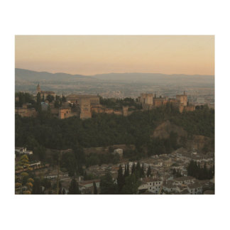 Granada Spain, Alhambra Wood Wall Art