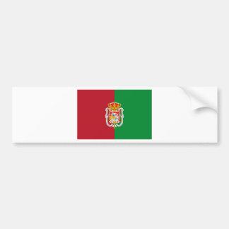 Granada (Spain) City Flag Bumper Stickers