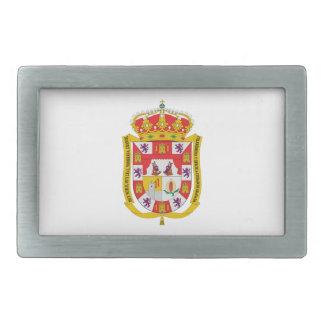 Granada (Spain) Coat of Arms Rectangular Belt Buckles