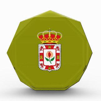 Granada (Spain) Provincial flag Acrylic Award