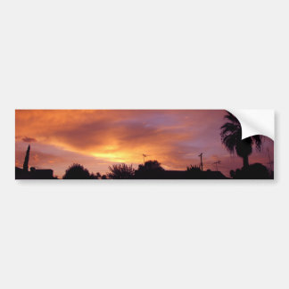 Granada Sunset Bumper Sticker