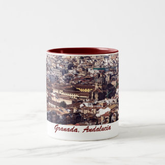 Granada, taza de Andalucía