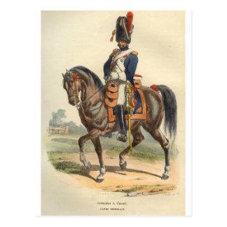 Granadero del caballo del guardia postal