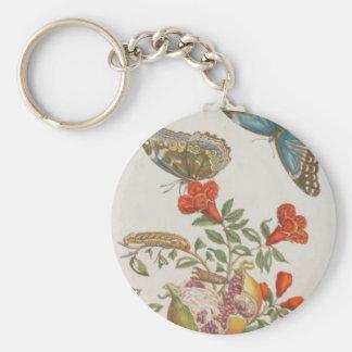 Granatapfel by Maria Sibylla Merian Keychain