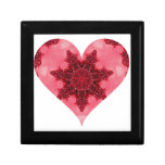 Granate corazón febrero de 2013 caja de joyas