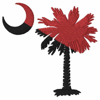 Granate y camisa bordada Palmetto negro
