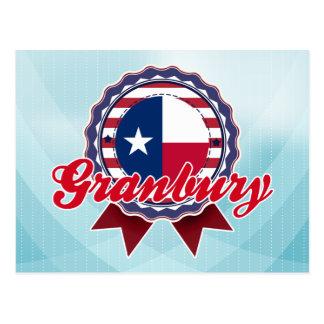 Granbury, TX Postcard