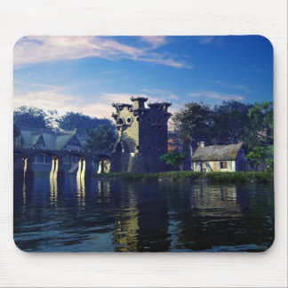 Granchester Lock Mouse Pad