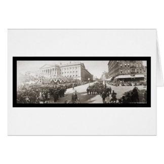 Grand Army Parade DC Photo 1902 Cards