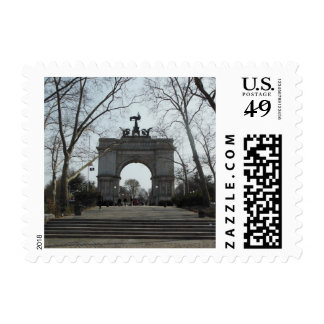 Grand Army Plaza - The Arch Postage