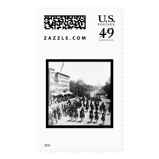 Grand Army Review in Washington, DC 1865 Postage