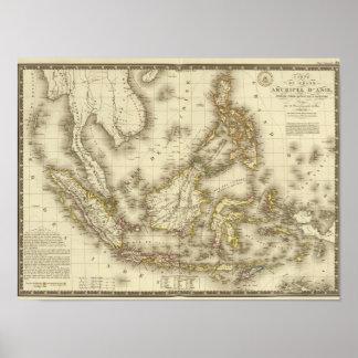 Grand Asian Archipelago Poster