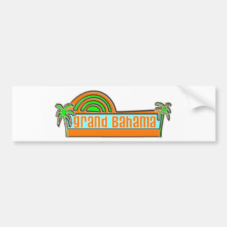 Grand Bahama Island Car Bumper Sticker