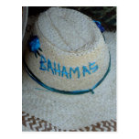 grand bahamas hat postcards