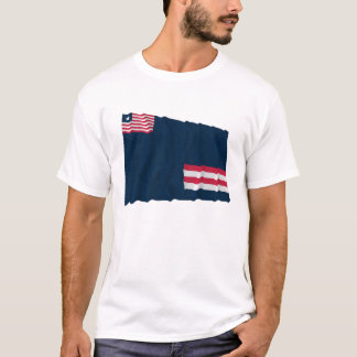 Grand Bassa County Waving Flag T-Shirt