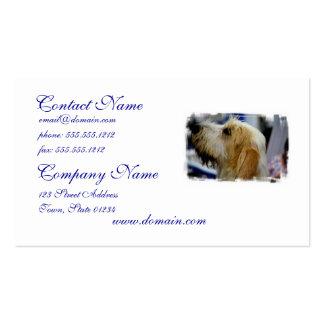 Grand Basset Business Cards