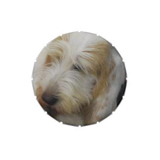 Grand Basset Dog Candy Tin