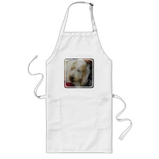 Grand Basset Dog Long Apron