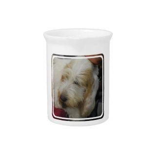 Grand Basset Dog Pitcher