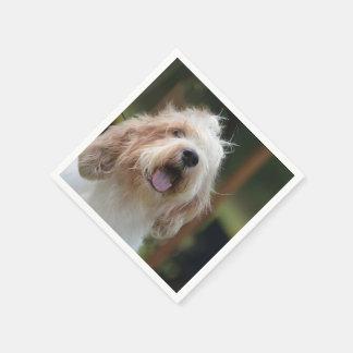 Grand Basset Dog Paper Napkins