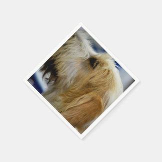 Grand Basset Dog Disposable Napkin