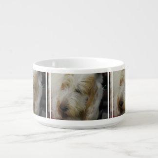 Grand Basset Dog Chili Bowl