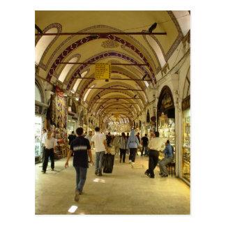 Grand Bazaar, Istanbul Postcard