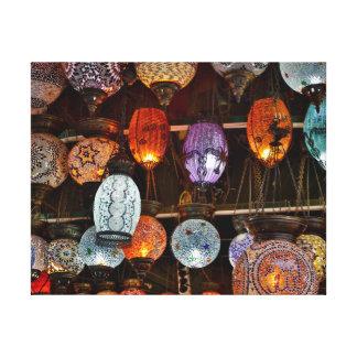 Grand Bazar In Istanbul, Turkey Canvas Print