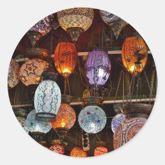 Grand Bazar In Istanbul, Turkey Classic Round Sticker