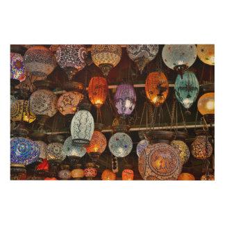 Grand Bazar In Istanbul, Turkey Wood Wall Art