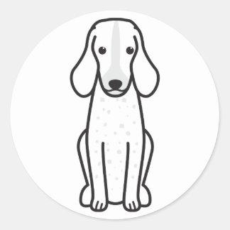 Grand Bleu de Gascogne Dog Cartoon Classic Round Sticker